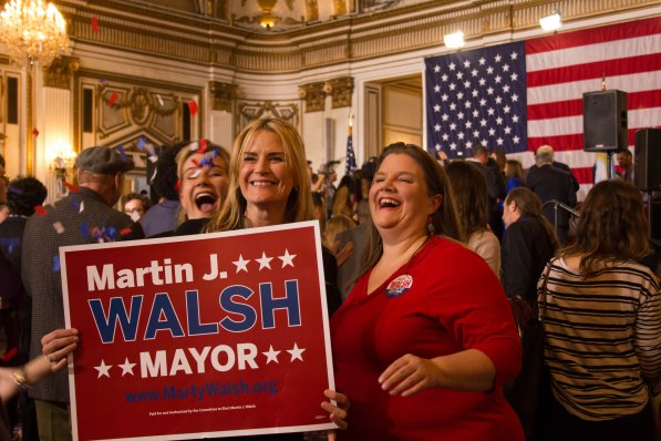 Mayor Marty Walsh Election Night Party 2017